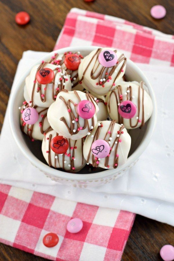 Cherry Chocolate Chip Cookie Dough Truffles | Community Post: 15 Amazing No-Bake Treats That Will Blow Your Valentine Away.