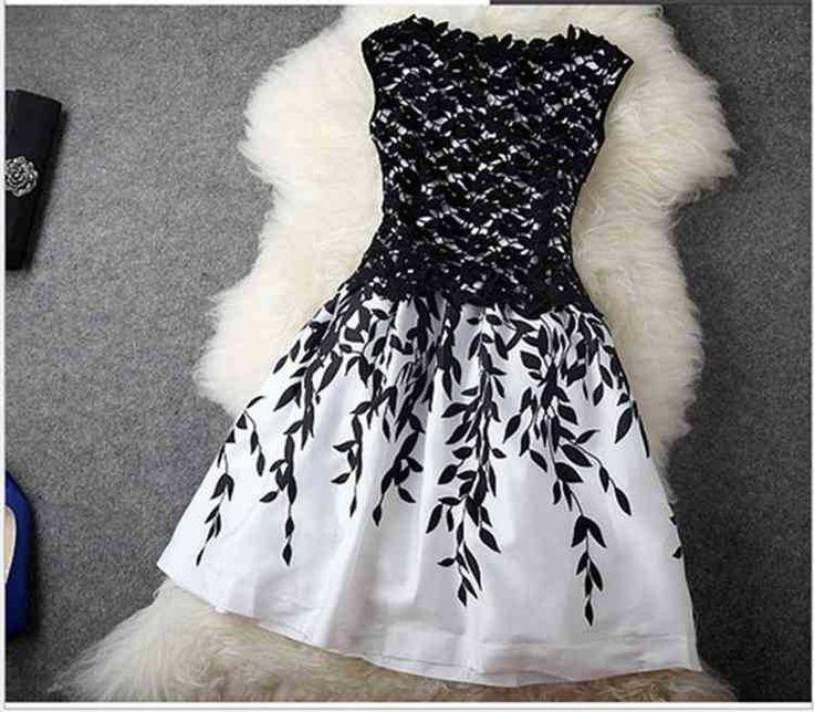 Goedkope Nieuwe mode 2015 borduurwerk kant mouwloze jurk goedkope jurk voor vrouwen zwart wit vestido jurken zomer jurken start en landingsbaan, koop Kwaliteit Jurken rechtstreeks van Leveranciers van China: Grootte( cm)bustetailleschoudermouwlengteheupens887036 100/m927437 101/l967838 102/xl1008239&