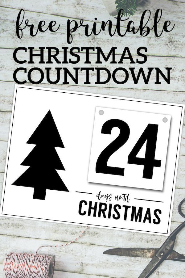 How Many Minutes Till Christmas.Free Printable Days Until Christmas Countdown Affordable