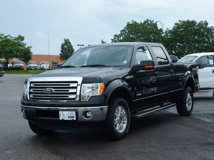 new_2013_ford_f_150_lariat_ Black