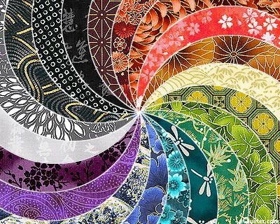 Asian Blender Luscious Colors Packet - 20 Colors