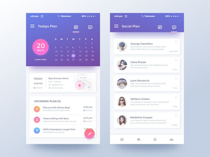 Qplanning App by Rifayet Uday #Design Popular #Dribbble #shots