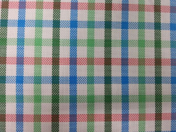 Emerald green, irsh green, blue, dusty rose and White Checks