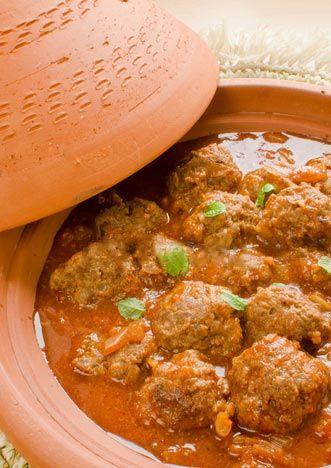 Recette de tajine aux boulette kefta marocaine