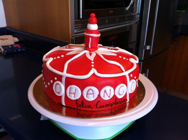 Shango Birthday Cake