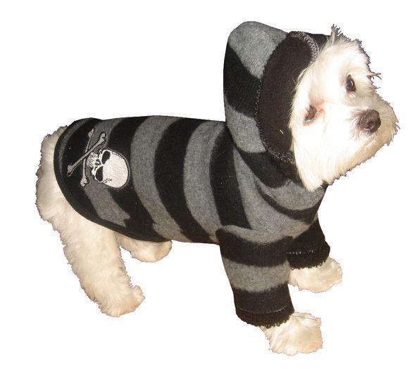 Best Friends World - Hip Doggie Super Soft Grey Skull Hoodie, €25.00 (http://www.bestfriendsworld.ie/hip-doggie-super-soft-grey-skull-hoodie/)