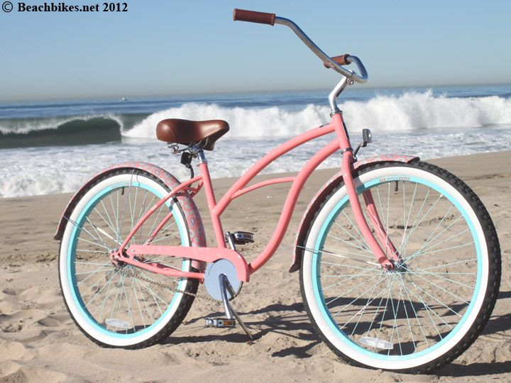 sixthreezero Limited Edition Paisley Beach Cruiser Bike