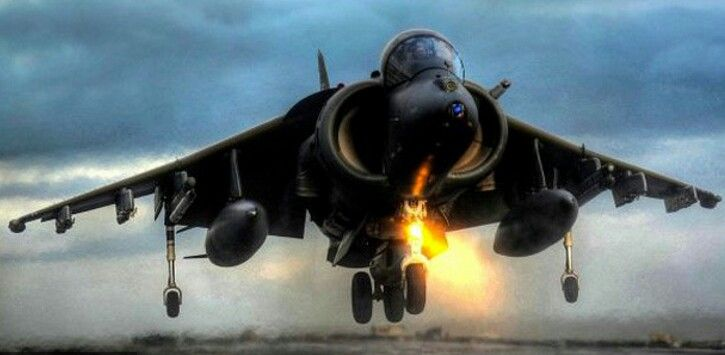 Harrier, Vertical Take-Off & Landing