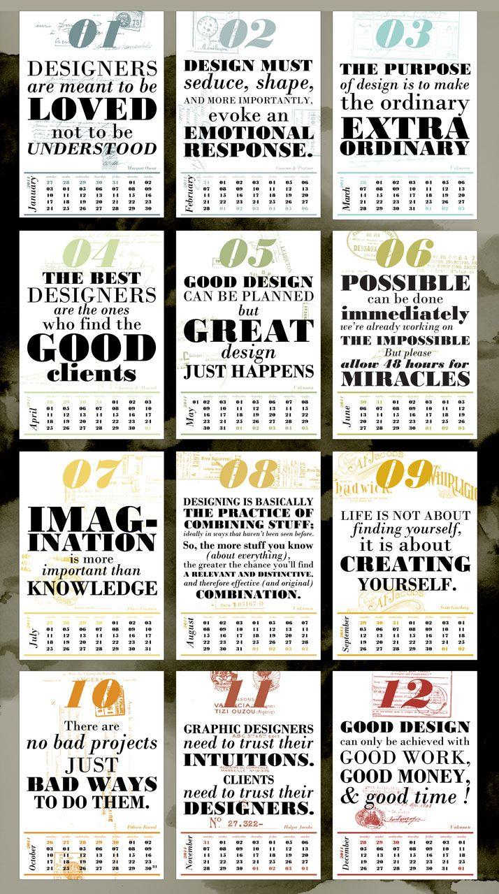 Calendar Design Rules : Best images about kalender design on pinterest