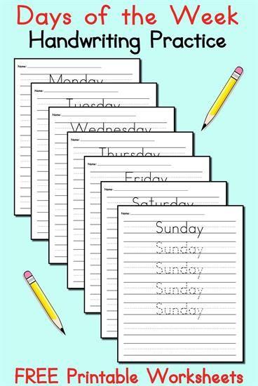 Kinder Garden: 25+ Best Ideas About Handwriting Worksheets On Pinterest