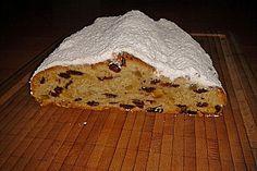 Butterstollen Thüringer Art, ein raffiniertes Rezept aus der Kategorie Kuchen…