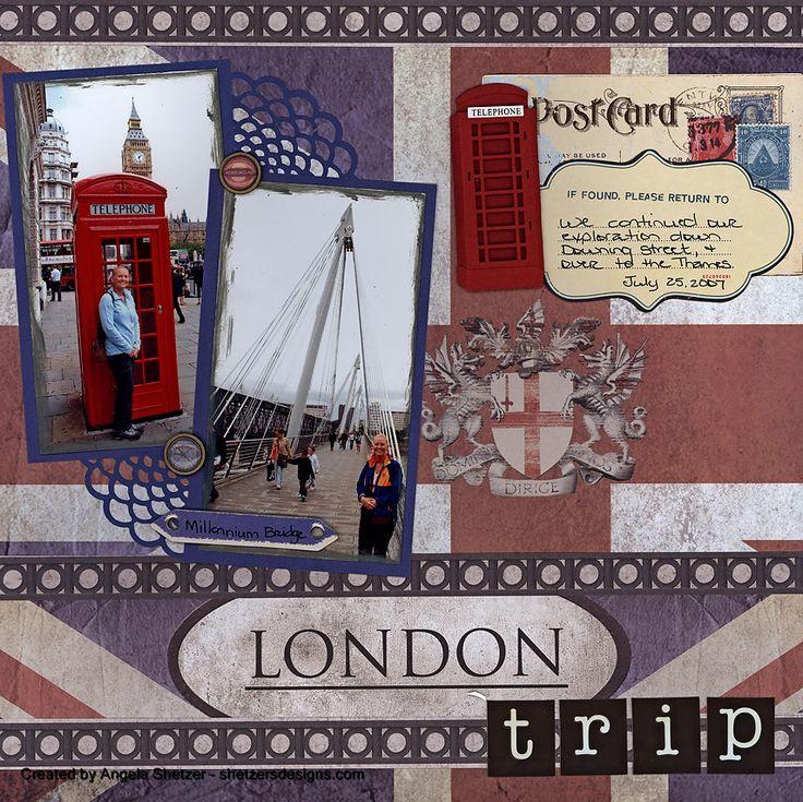 london trip travel scrapbook pages pinterest scrapbook scrapbooking. Black Bedroom Furniture Sets. Home Design Ideas