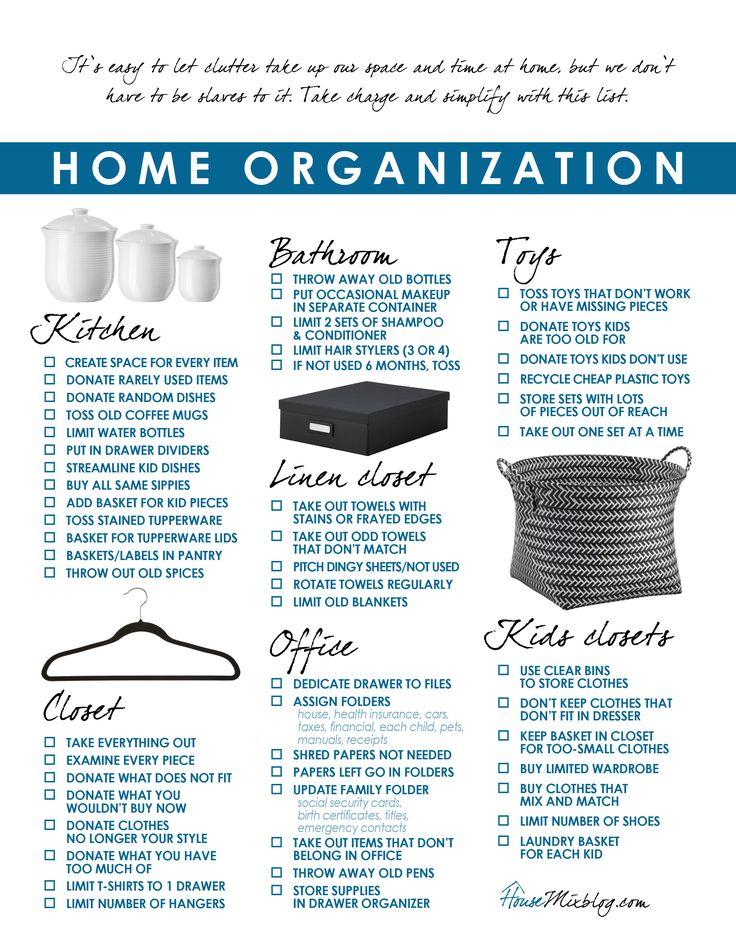 Home-organization-and-simplify-printable-checklist.jpg (2550×3301)