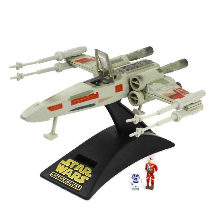 STAR WARS Micro Machines Action Fleet REBEL X-WING FIGHTER Vehicle Galoob 1995 #Galoob