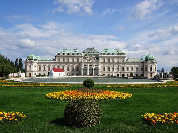 Palácio do Belvedere em Viena, Áustria  - Post: Leste Europeu: Viena e Budapeste – Sabaticando em Dublin