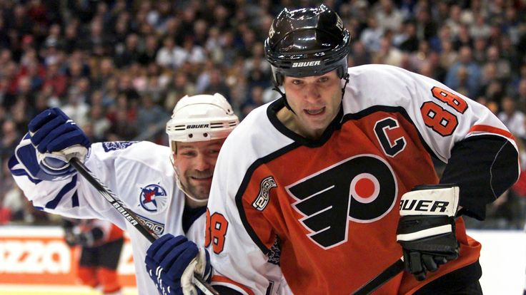 Eric Lindros   Philadelphia Flyers   NHL   Hockey