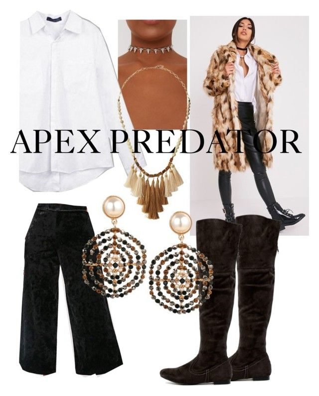 """Apex Predator Fashion Expo"" by lolita061 ❤ liked on Polyvore featuring NAKAMOL"