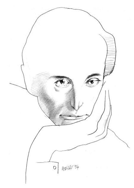Tullio Pericoli - Paul Celan