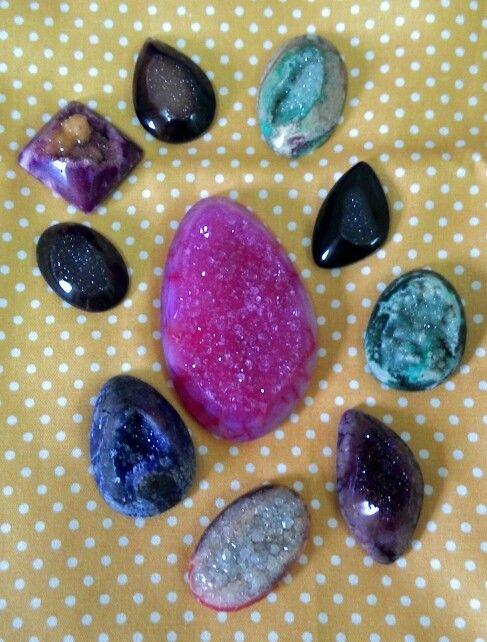 Druzy stone from Pacitan Indonesia