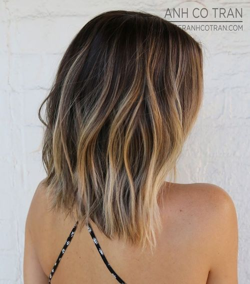 Straight Haircut with Subtle Waves