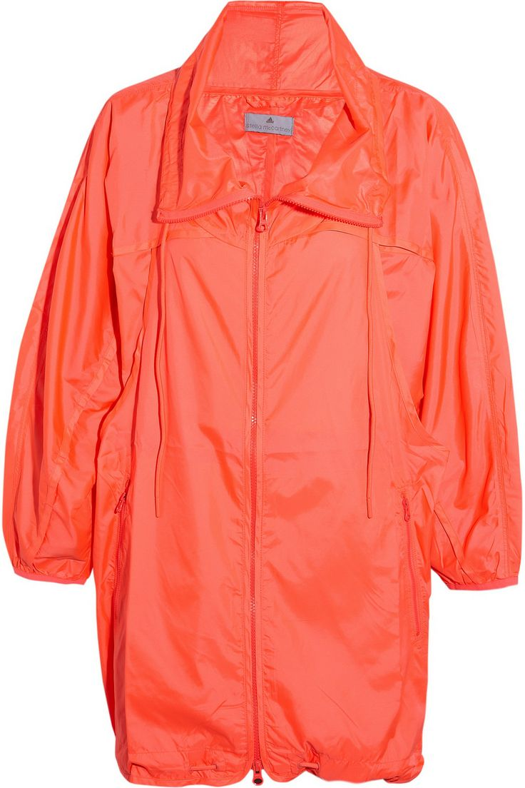 Adidas by Stella McCartney | Parka imperméable fluo Run Image | NET-A-PORTER.COM