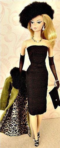 Little Black Dress: Barbie Girl, Barbie Couture, Fashion Dolls, Barbie Collection, Barbie Dolls, Vintage Barbie, Barbie Fashion, Dolls Barbie, Barbie 4