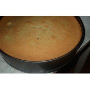 Шифоновый ванильный бисквит
