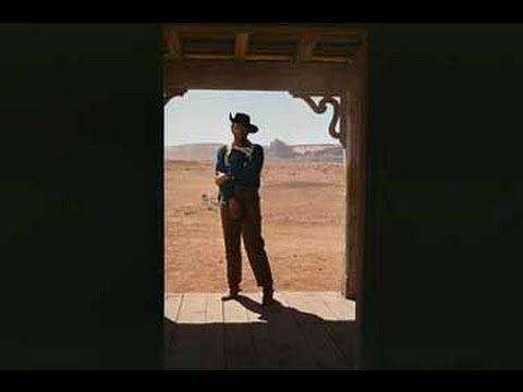 The Searchers starring John Wayne