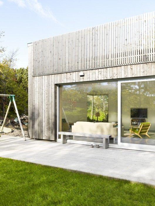 timber cladding Wood House / UNIT Arkitektur AB
