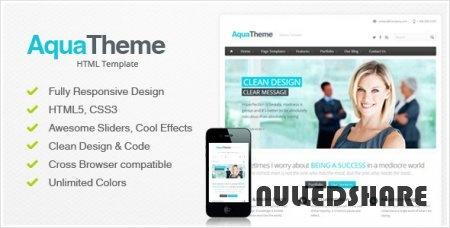 Aqua – Responsive HTML Template