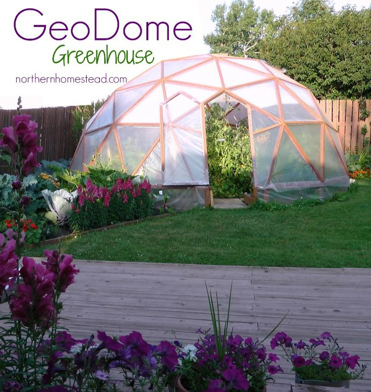 1000+ Images About GeoDome Greenhouse On Pinterest