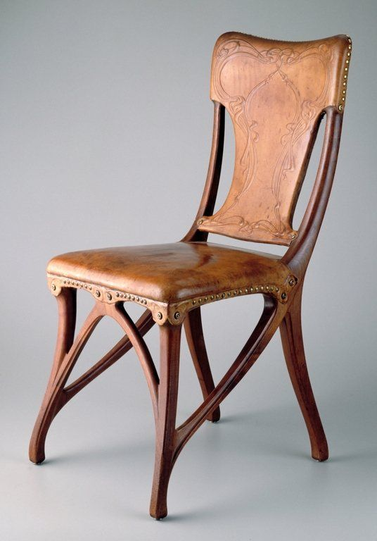 Side Chair, Eugène GAILLARD, Decorative Arts And Utilitarian Objects,  Furniture. Minneapolis Institute Of Arts.
