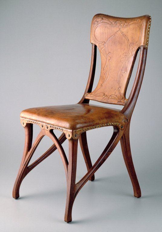 Artist: Eugène Gaillard  Date: 1900  Medium: Decorative Arts and Utilitarian Objects, Furniture  Size: 37 x 18 x 21 1/2 in. (93.98 x 45.72 x 54.61 cm)  Institution: Minneapolis Institute of Arts  Accession #: 94.34