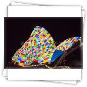 Opera House, Vivid Sydney 2014 - Katherine Quirke Photography