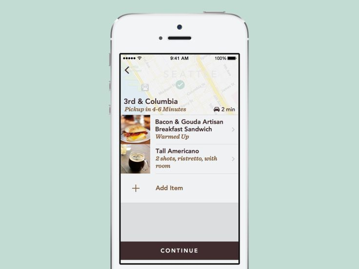 """Starbucks Expands Its Mobile """"Order Ahead"""" Feature To Seattle And The Pacific Northwest 