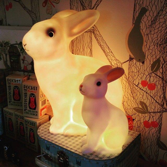 Nattlampa, kaninlampa, barnrum / www.kurragomma.nu