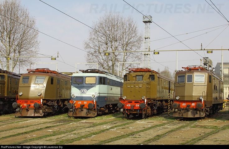 RailPictures.Net Photo: E.428 226 Trenitalia FS E.428 at Milano, Lombardy, Italy by Laurence Sly