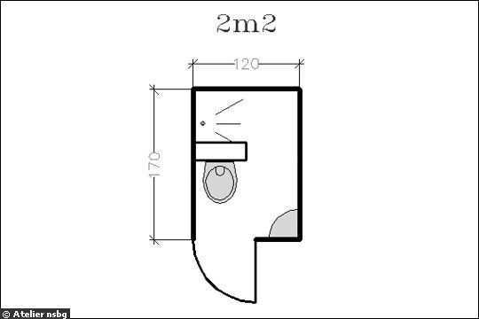 Aménagement petite salle de bains : 15 plans pour une petite salle de bains (- de 5m²) - CôtéMaison.fr