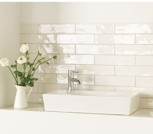 Brick tile - China White - Winchester Tile Company