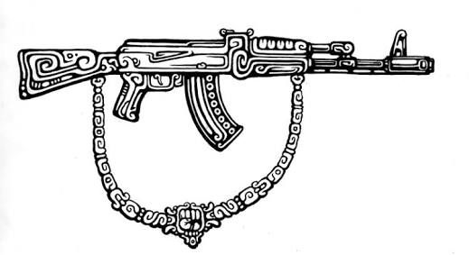 ak 47 tattoo - Google Search