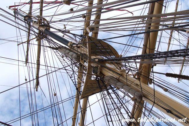 tallshipsraces.net - Fregata Danmark na Westerplatte