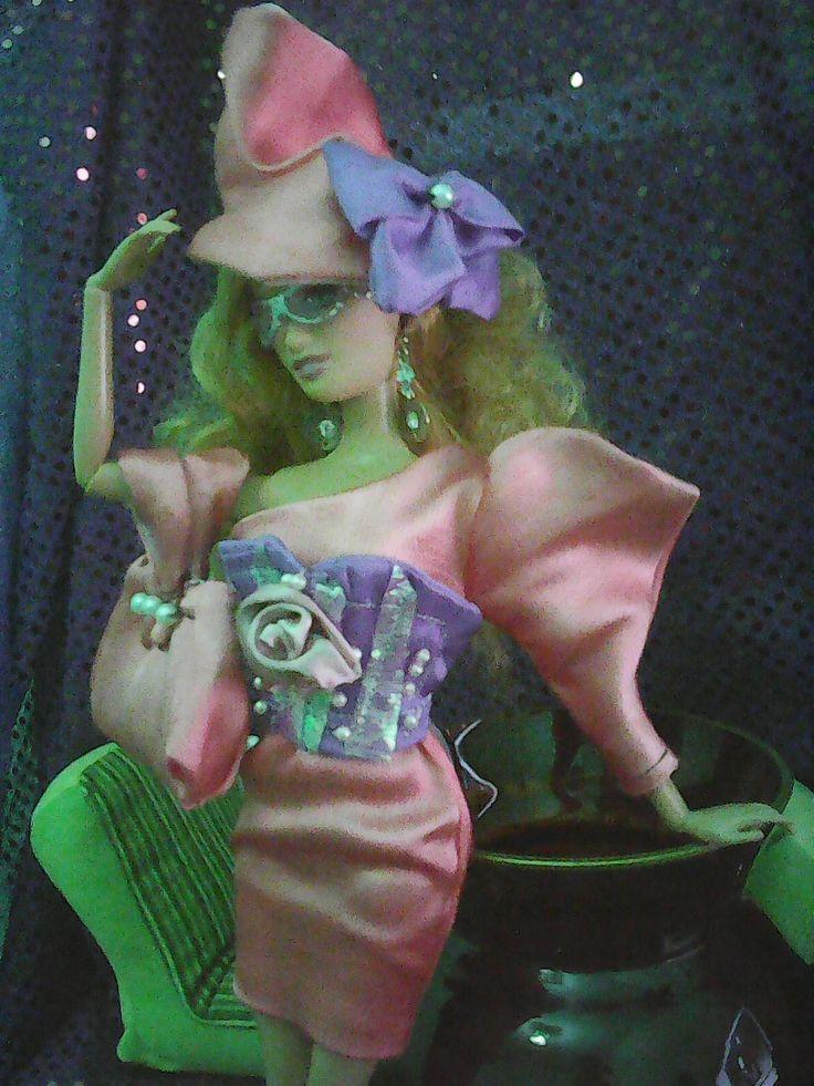 Lara in pink,OOAK outfit