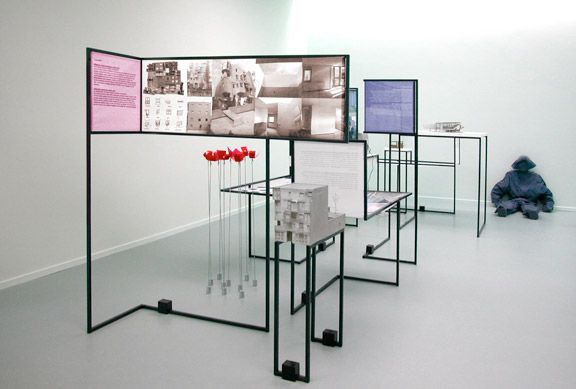 Asking questions | 10 years of Architectural Design at the Gerrit Rietveld Academie, is a travelling exhibition starting at the Netherlands Architecture Institute (NAI).
