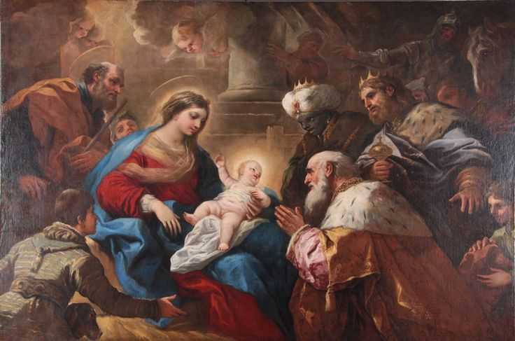 The adoration of the Magi, Luca Giordano