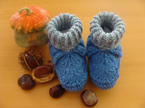 Baby Booties Knitting, Wool Baby Booties, Hand Knit, Cute Booties, Slippers, Gift for Newborn, Wool Baby Shoes, Christmas Gift