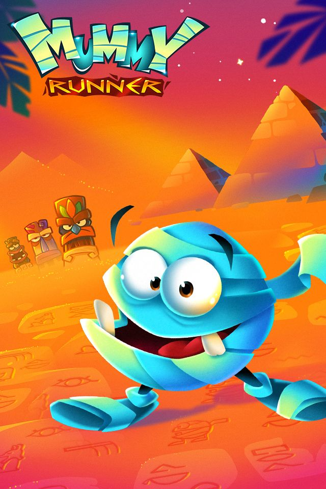 Mummy Runner  Game Banner 001