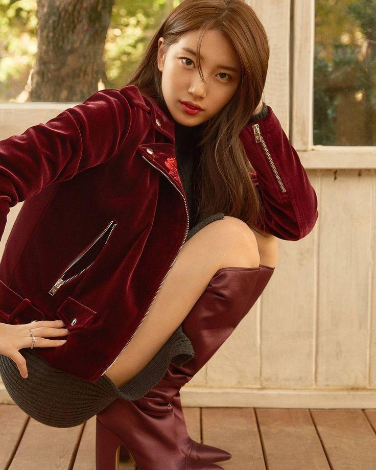 """""""코스모폴리탄 10월호 커버 배수지 꽃보다 수지 Cosmopolitan Korea October Issue with Bae Suzy - #수지 #숮이 #배수지 #여신 #사랑…"""""""