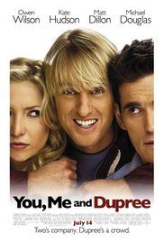 You Me And Dupree Solarmovie. A best man (Wilson) stays on as a houseguest with the newlyweds, much to the couple's annoyance.