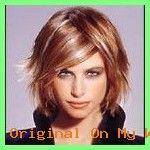 Frauen Frisuren Lange Haare – Halblange kurzhaarfrisuren – #gestuft #halblange #Kurzhaarfrisu…