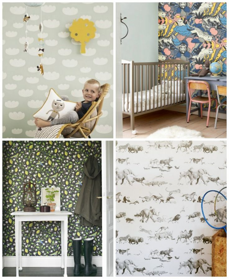 21 Wallpapers For Kids Rooms